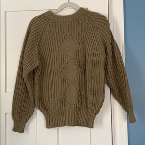 Hand knit Louisport Cotton Sweater